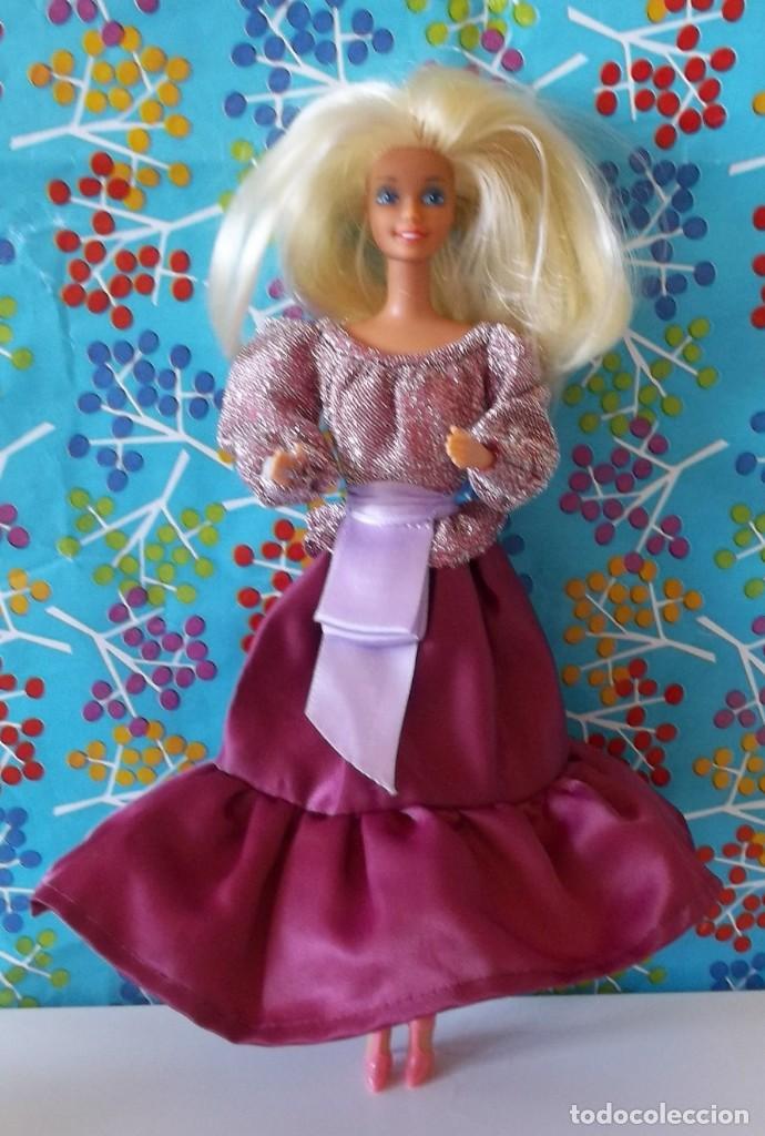 CONJUNTO CONCIERTO ORIGINAL 9149-BARBIE CONGOST-AÑOS 80 (Juguetes - Muñeca Extranjera Moderna - Barbie y Ken - Vestidos y Accesorios)