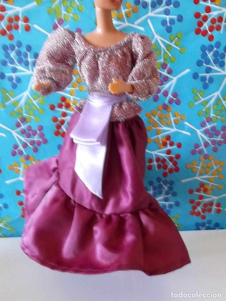 Barbie y Ken: CONJUNTO CONCIERTO ORIGINAL 9149-BARBIE CONGOST-AÑOS 80 - Foto 9 - 186078991