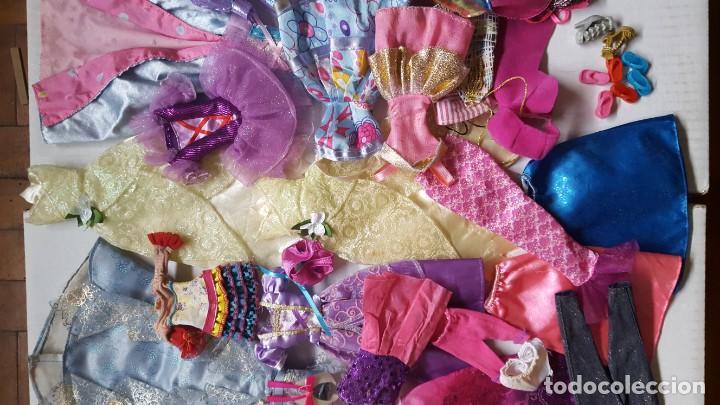 Barbie y Ken: LOTE DE VESTIDOS PARA MUÑECAS BARBIE, DISNEY Y SIMILAR - Foto 3 - 186103492