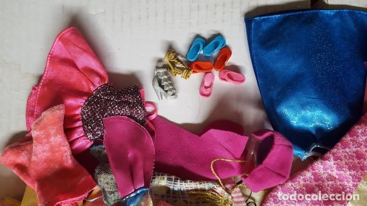 Barbie y Ken: LOTE DE VESTIDOS PARA MUÑECAS BARBIE, DISNEY Y SIMILAR - Foto 5 - 186103492
