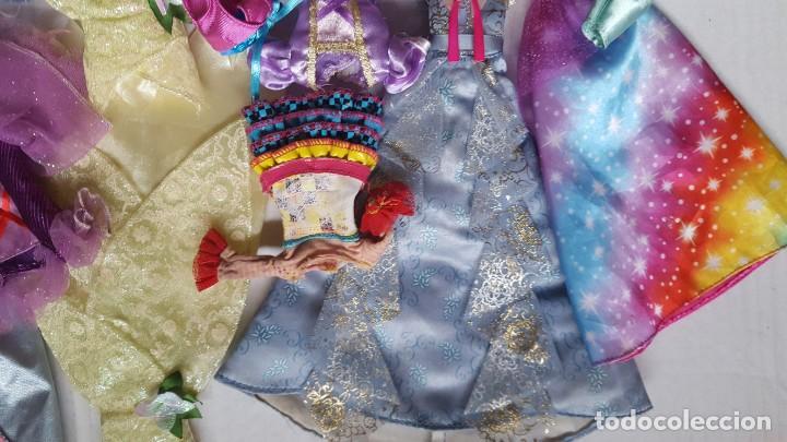 Barbie y Ken: LOTE DE VESTIDOS PARA MUÑECAS BARBIE, DISNEY Y SIMILAR - Foto 8 - 186103492