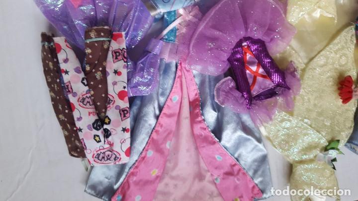 Barbie y Ken: LOTE DE VESTIDOS PARA MUÑECAS BARBIE, DISNEY Y SIMILAR - Foto 9 - 186103492