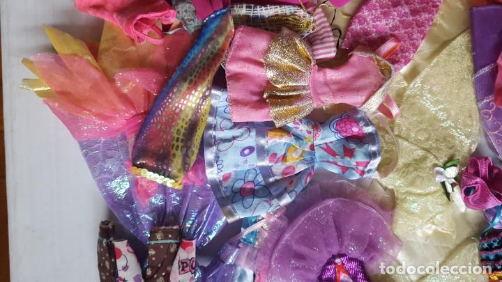 Barbie y Ken: LOTE DE VESTIDOS PARA MUÑECAS BARBIE, DISNEY Y SIMILAR - Foto 10 - 186103492