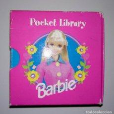 Barbie y Ken: BARBIE POCKET LIBRARY LIBROS MATTEL. Lote 186144803