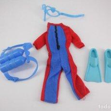 Barbie y Ken: KEN ACTIVE WEAR #775 SUBMARINISTA - MATTEL, 1990. Lote 186368543