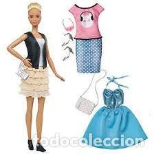 Barbie y Ken: Barbie Mattel Fashionista Nº 44 LEATHER & RUFFLES falda nuevo Fashionistas Tall - Foto 3 - 187522650