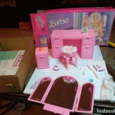 Barbie y Ken: NUEVO TOCADOR Y MESITA DE NOCHE DE BARBIE. COMPLETO CAJA ORIGINAL. DE MATEL 1988. Lote 188727141