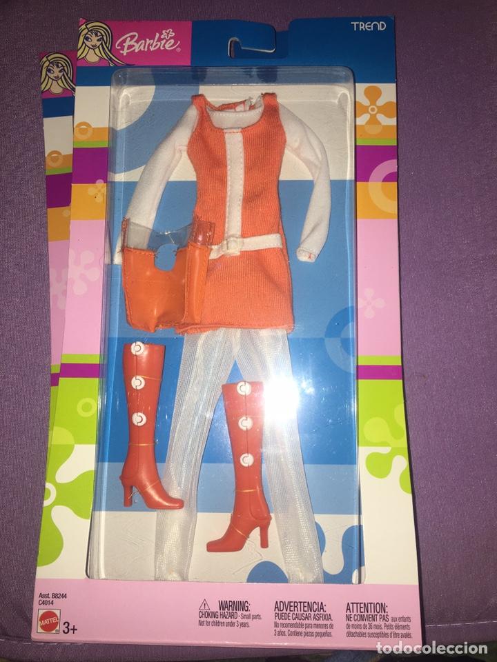 BARBIE MATTEL BLISTER 2004 (Juguetes - Muñeca Extranjera Moderna - Barbie y Ken - Vestidos y Accesorios)