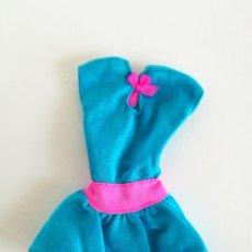 Barbie e Ken: BARBIE VESTIDO AZUL AÑOS 80. Lote 189833880
