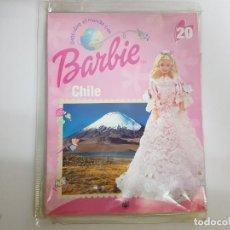 Barbie y Ken: DESCUBRE EL MUNDO CON BARBIE, CHILE. VESTIDO + FASCICULO202 DE MATTEL - NUEVO SIN ABRIR.. Lote 190368090
