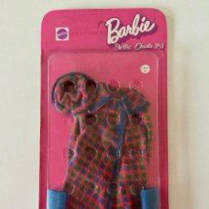 Barbie y Ken: VESTIDO BARBIE STEFFIE CRISTIE VINTAGE 1971 MATTEL PRECINTADO EN CAJA ORIGINAL ABRIGO BOTAS SOMBRERO. Lote 192808760