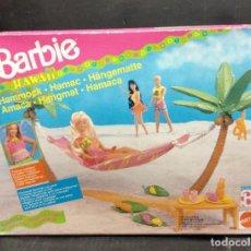 Barbie y Ken: HAMACA DE BARBIE HAWAI DE MATTEL AÑO 1990. Lote 192840155