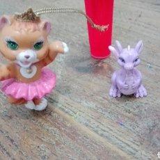 Barbie e Ken: BARBIE MASCOTAS DRAGONA Y GATITA BAILARINA. Lote 193359848