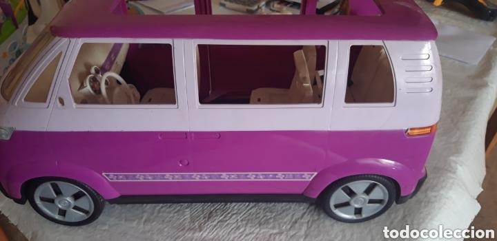 BARBIE FURGONETA CARAVANA VOLSWAGEN VW (Juguetes - Muñeca Extranjera Moderna - Barbie y Ken - Vestidos y Accesorios)