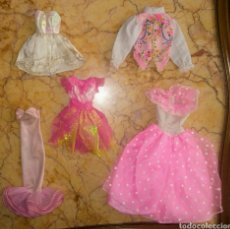 Barbie y Ken: VESTIDOS ELEGANTES BARBIE GENUINE FASHIONISTA PAUL SINDY PRINCIPE MAGIC EYE AÑOS 90. Lote 194308061