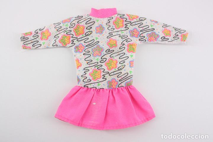VESTIDO ORIGINAL BARBIE GENUINE - MATTEL, AÑOS 90 (Juguetes - Muñeca Extranjera Moderna - Barbie y Ken - Vestidos y Accesorios)