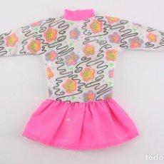 Barbie y Ken: VESTIDO ORIGINAL BARBIE GENUINE - MATTEL, AÑOS 90. Lote 194356478