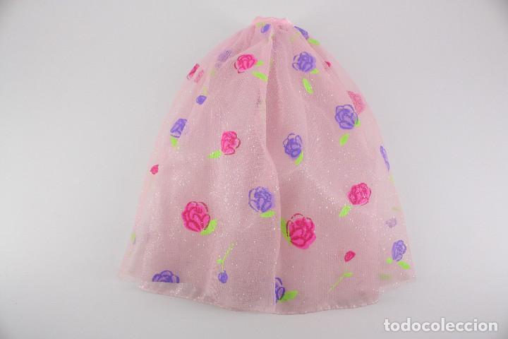 FALDA ORIGINAL BARBIE ROSE PRINCESS - MATTEL, 2000 (Juguetes - Muñeca Extranjera Moderna - Barbie y Ken - Vestidos y Accesorios)