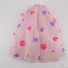 Barbie y Ken: FALDA ORIGINAL BARBIE ROSE PRINCESS - MATTEL, 2000. Lote 194356512
