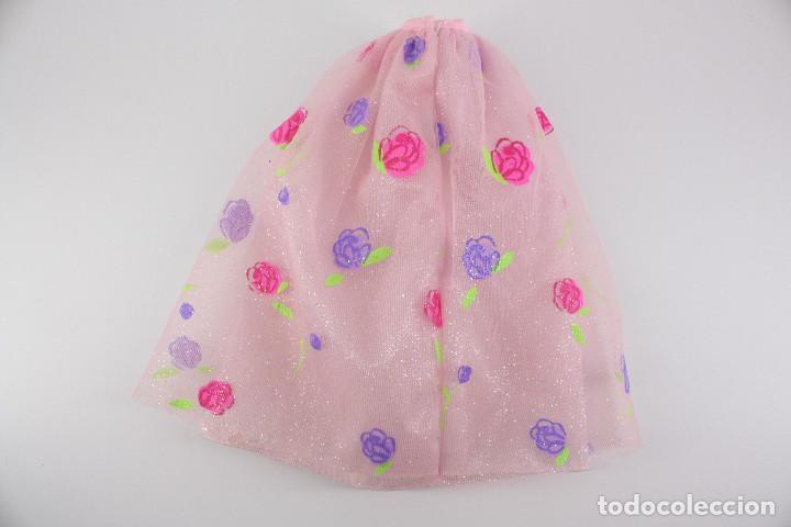 Barbie y Ken: Falda original Barbie Rose Princess - Mattel, 2000 - Foto 2 - 194356512