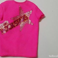 Barbie y Ken: CAMISETA ROCK STARS BARBIE. Lote 194357381