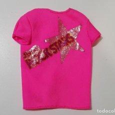 Barbie y Ken: CAMISETA ROCK STARS BARBIE . Lote 194357396