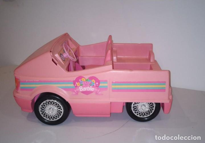 COCHE DE LA MUÑECA BARBIE. DESCAPOTABLE. (Juguetes - Muñeca Extranjera Moderna - Barbie y Ken - Vestidos y Accesorios)