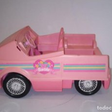 Barbie y Ken: COCHE DE LA MUÑECA BARBIE. DESCAPOTABLE. . Lote 194509600