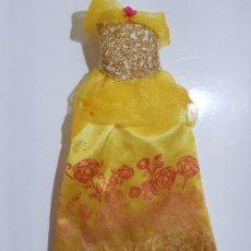 Barbie y Ken: VESTIDO DISNEY BELLA. Lote 194870342