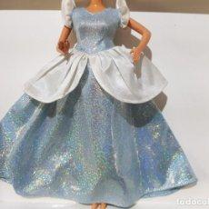 Barbie y Ken: VESTIDO DISNEY CENICIENTA. Lote 194873410