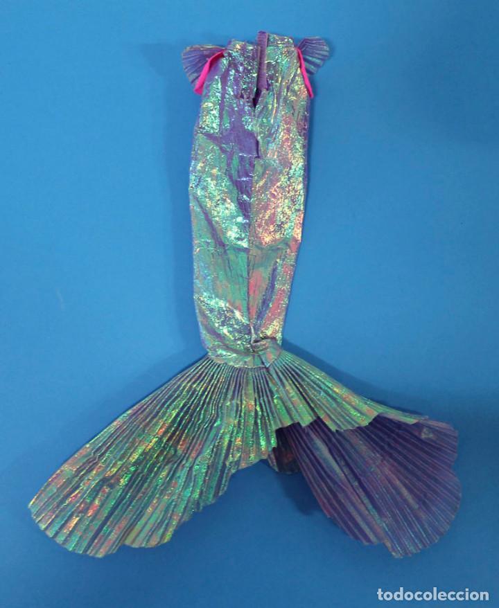 Barbie y Ken: Barbie Cola Sirena Magical hair Mermaid - Mattel 1993 - Años 90 - Foto 2 - 195155342
