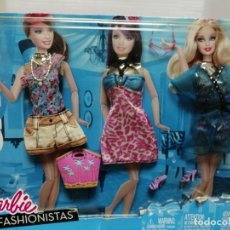 Barbie y Ken: BLISTER BARBIE FASHIONISTAS MATTEL 2010 . Lote 195247703