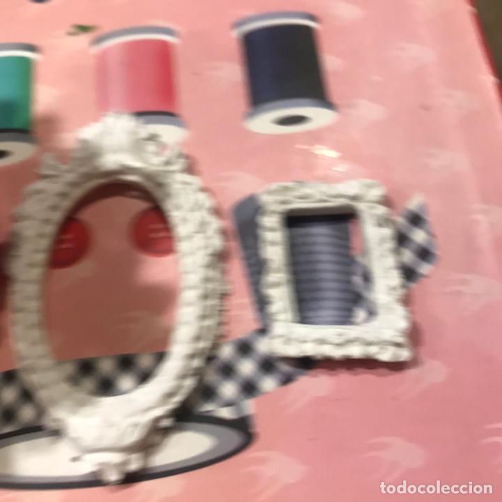 Barbie y Ken: Cubo metal con flores y 2 marcos escayola Barbie - Foto 3 - 195345376