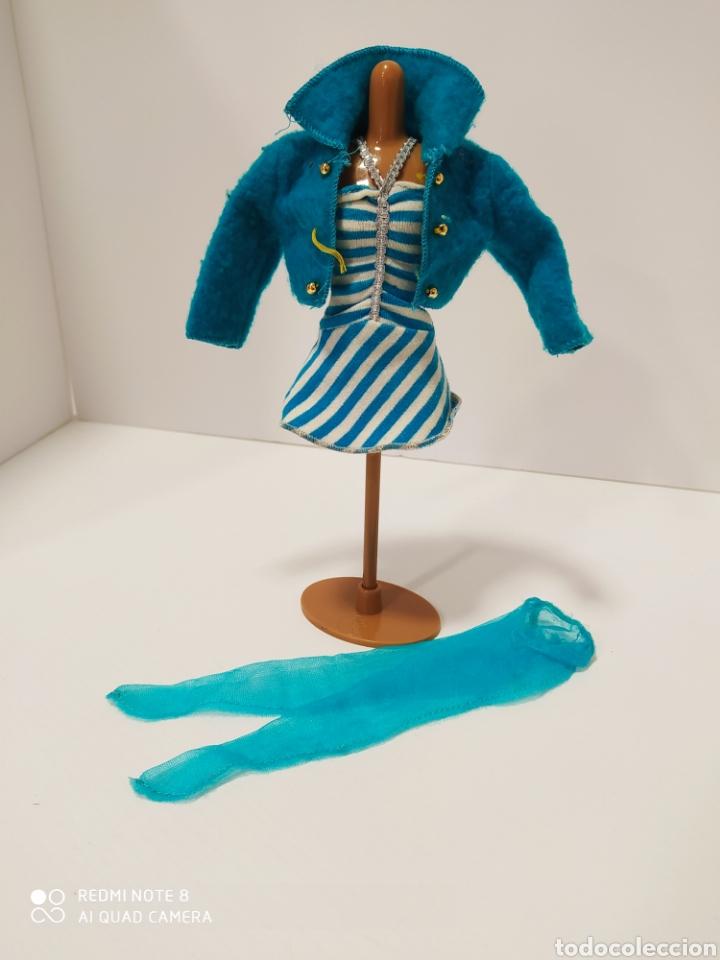 CONJUNTO BARBIE TURQUESA (Juguetes - Muñeca Extranjera Moderna - Barbie y Ken - Vestidos y Accesorios)