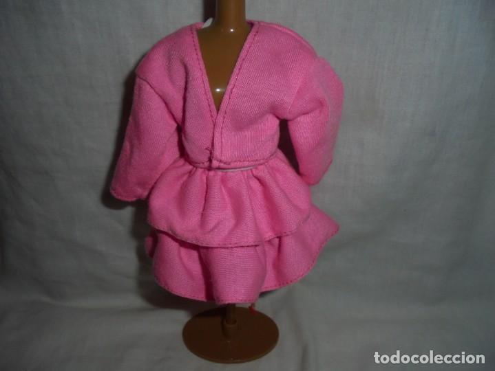 BARBIE VESTIDO AÑOS 80 ETIQUETA BARBIE GENUINA (Juguetes - Muñeca Extranjera Moderna - Barbie y Ken - Vestidos y Accesorios)
