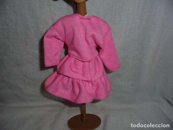 Barbie y Ken: BARBIE VESTIDO AÑOS 80 ETIQUETA BARBIE GENUINA - Foto 2 - 197865538