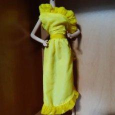 Barbie e Ken: VESTIDO BARBIE DE LOS 80. Lote 198042176