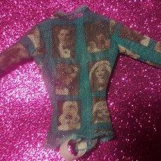 Barbie y Ken: CAMISETA DE BARBIE HOLLYWOOD NAILS VERDE. Lote 199083580