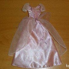 Barbie y Ken: VESTIDO PRINCESA BARBIE MATTEL. Lote 200029118