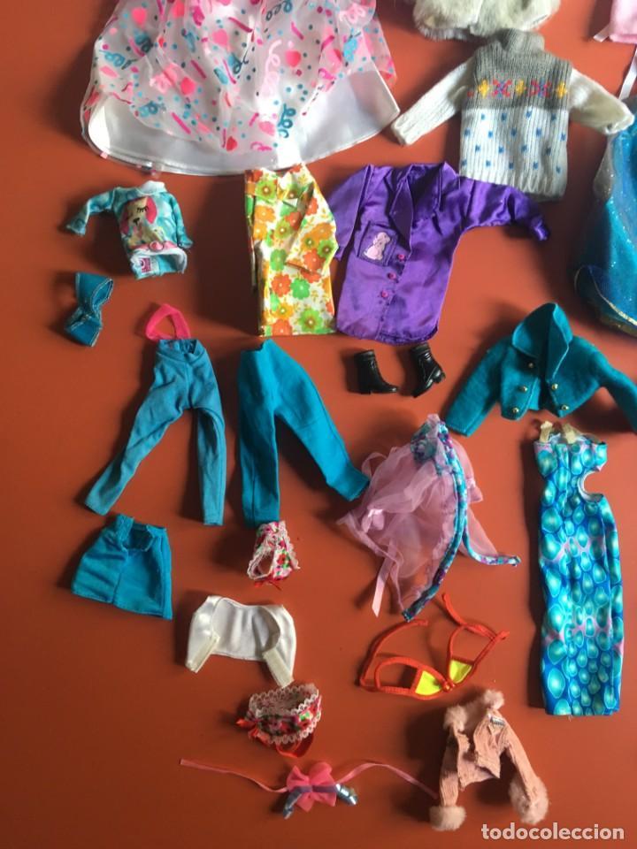 Barbie y Ken: LOTE ROPA - VESTIDOS ACCESORIOS DE MUÑECA - MUCHO DE BARBIE - ¿NANCY? - VER FOTOS ADICIONALES - Foto 8 - 200776872