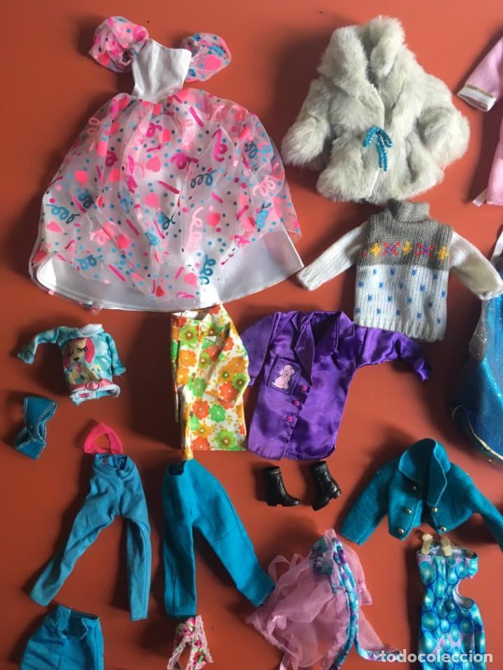 Barbie y Ken: LOTE ROPA - VESTIDOS ACCESORIOS DE MUÑECA - MUCHO DE BARBIE - ¿NANCY? - VER FOTOS ADICIONALES - Foto 9 - 200776872