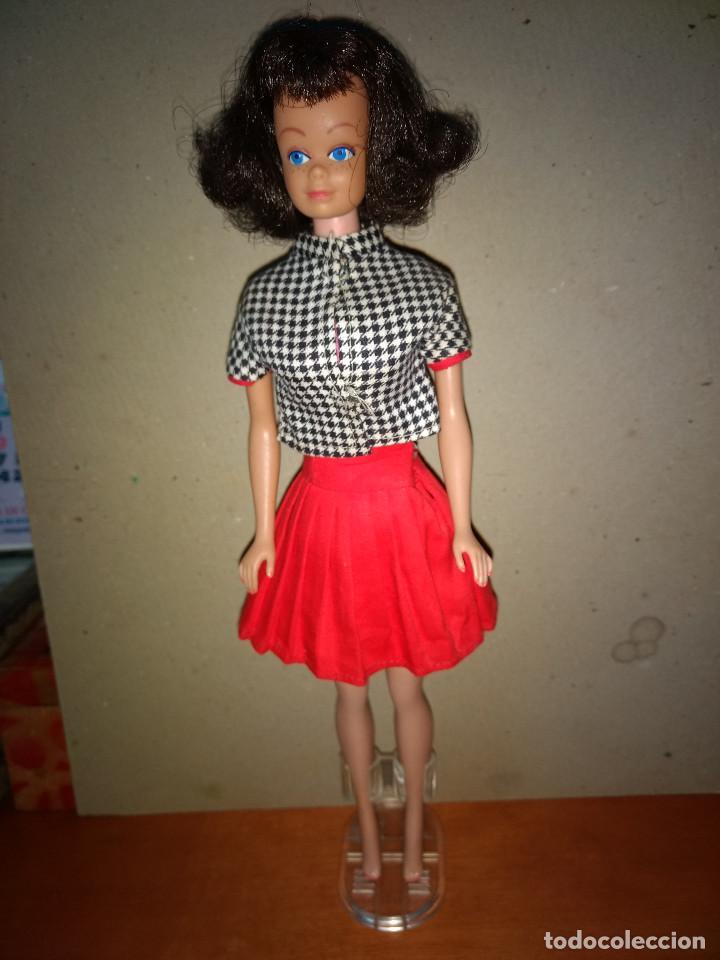 BARBIE MIDGE AÑO 1962 TODO ORIGINAL ROPA Y MUÑECA (Juguetes - Muñeca Extranjera Moderna - Barbie y Ken - Vestidos y Accesorios)