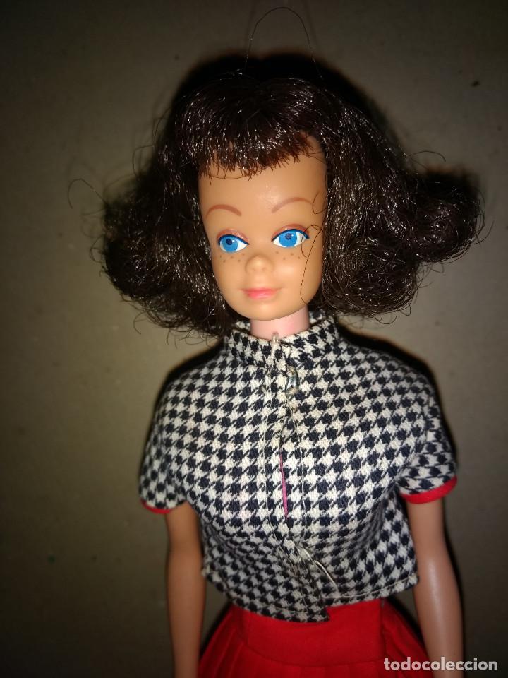 Barbie y Ken: BARBIE MIDGE AÑO 1962 TODO ORIGINAL ROPA Y MUÑECA - Foto 2 - 201153880