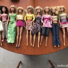 Barbie y Ken: LOTE DE MUÑECAS BARBIE Y MUÑECO KEN. Lote 202650881
