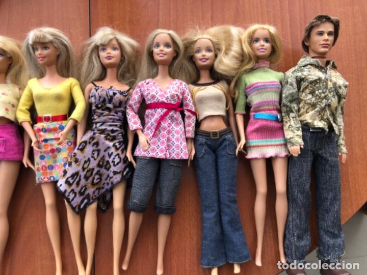 Barbie y Ken: Lote de muñecas Barbie y muñeco Ken - Foto 7 - 202650881