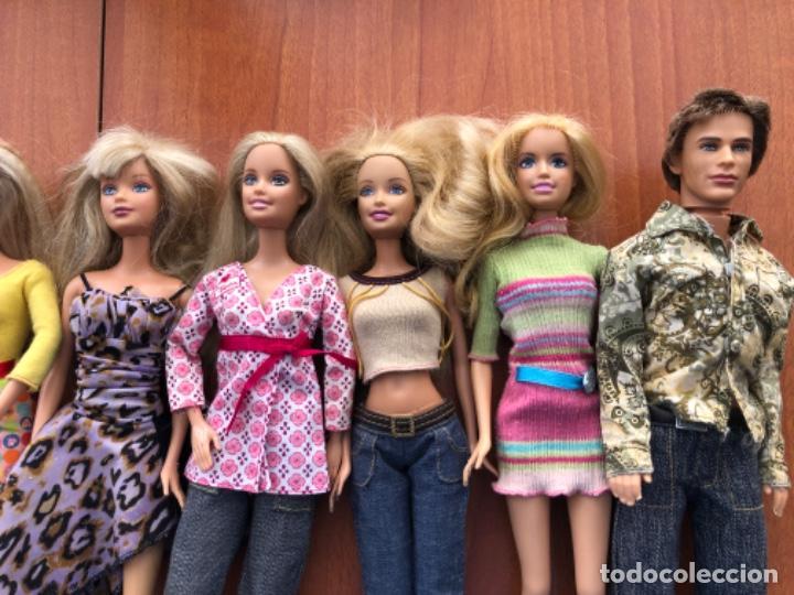Barbie y Ken: Lote de muñecas Barbie y muñeco Ken - Foto 8 - 202650881