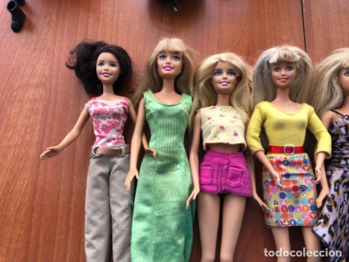 Barbie y Ken: Lote de muñecas Barbie y muñeco Ken - Foto 10 - 202650881