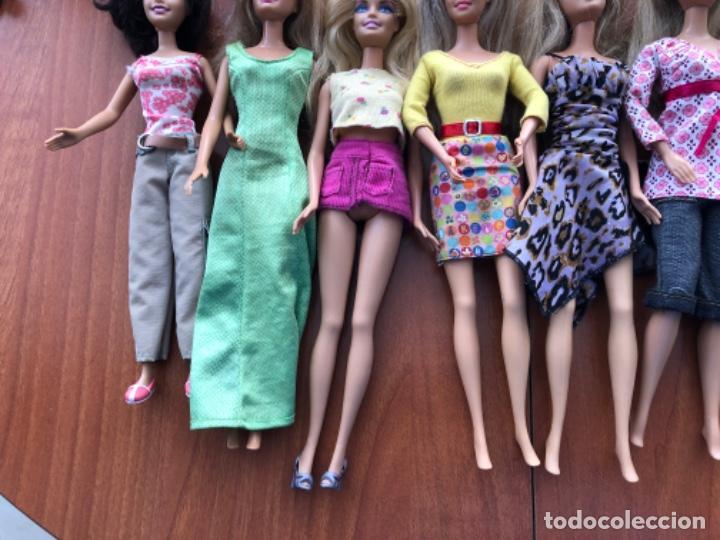 Barbie y Ken: Lote de muñecas Barbie y muñeco Ken - Foto 11 - 202650881