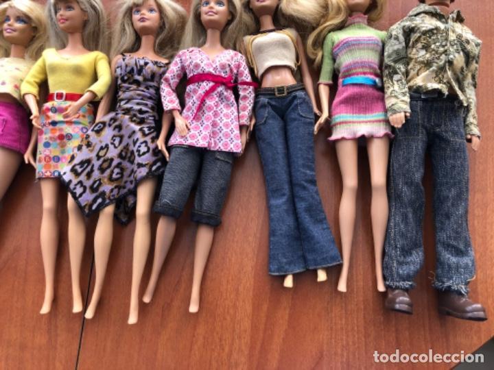 Barbie y Ken: Lote de muñecas Barbie y muñeco Ken - Foto 12 - 202650881