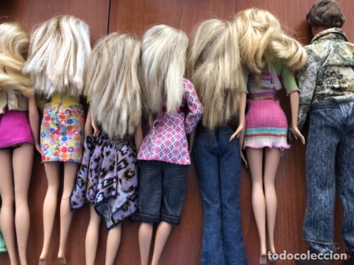 Barbie y Ken: Lote de muñecas Barbie y muñeco Ken - Foto 14 - 202650881